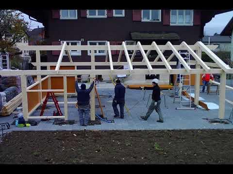 Carport Bausatz zum selber aufbauen - Do it yourself