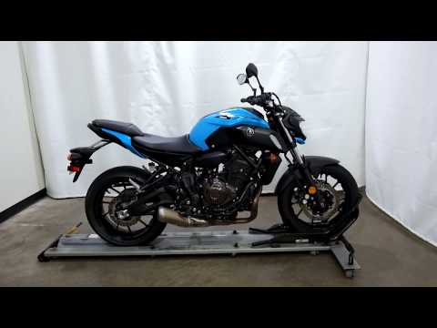 2019 Yamaha MT-07 in Eden Prairie, Minnesota - Video 1