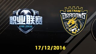 [17.12.2016] [EA CCW 2016] FSL vs VIETNAM DRAGONS [Group Stages]
