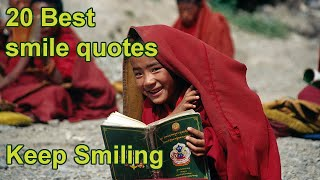 20 Best Smile Quotes | Keep Smiling 😃👻😍