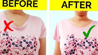6 HACKS CRAZY CLOTHES ALTERATIONS TO SAVE YOUR MONEY CLOTHES TO UPGRADE OLD T-SHIRTS DIY JEANS