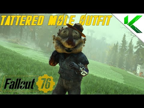 RARE Mr  Fuzzy Mascot OUTFIT GUIDE | Fallout 76 | AMAZING