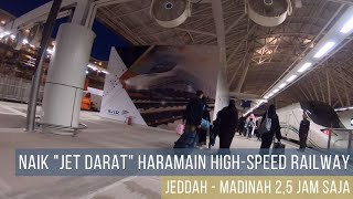 Persingkat Waktu Perjalanan dengan Haramain High-speed Railway