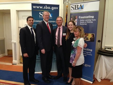 EMSEAL Accepts SBA Small Business Exporter of the Year Award