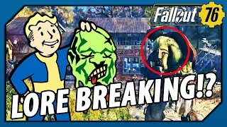 FALLOUT 76 - LORE BREAKING!? THIS could be WHY there are SUPER MUTANTS (Theory) - dooclip.me