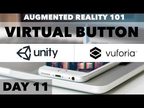 How To Augmented Reality App Tutorial Virtual Buttons with