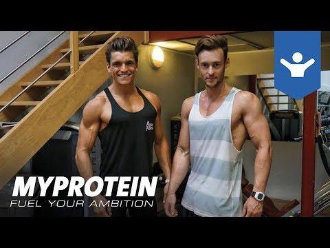 Le programme pour le training des muscles