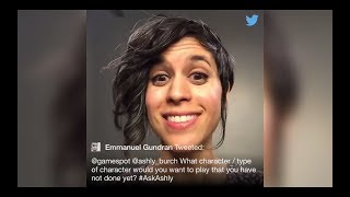 Ashly Burch Answers Fans' Questions On Twitter | 12.13.2017