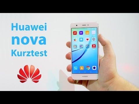 Huawei Nova - handliches 5 Zoll Smartphone | Hands On | deutsch