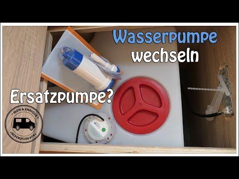 Wohnmobil Wasserpumpe wechseln oder tauschen – Technik Tipps