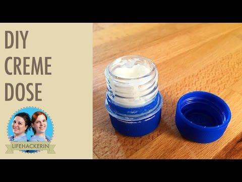 Creme Döschen selbermachen | Plastik Flaschen DIY