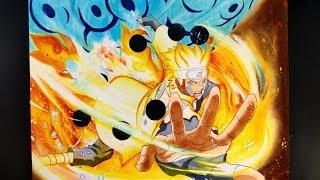 Drawing NARUTO Sage of Six Paths | Magnetic Rasengan