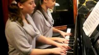Schubert serenade - piano duet