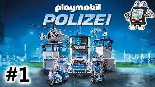 PLAYMOBIL POLIZEI #1 App Deutsch - AUF GANGSTERJAGD! Android &  iOS - Spiel für Kinder