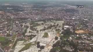 preview picture of video '飛行機 離陸 インドネシア バンカ島 パンカルピナン空港離陸 Inndonesia Bangka Isiand'