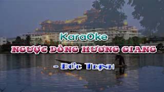 Karaoke Ngược Dòng Hương Giang-HD-Beat chuẩn