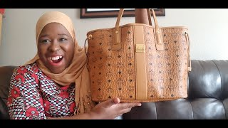 My Best Tote Ever!|MCM Liz Tote Review