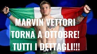 UFC BREAKING NEWS! VETTORI VS COSTA!