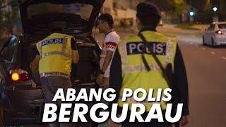 Polis Roadblock AJAK BERGURAU