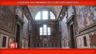 Pape François Audience aux membres du Corps diplomatique 2019-01-07