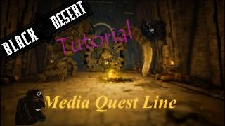 Trovator - BLACK DESERT QuestLine Mediah Completa (Guía)