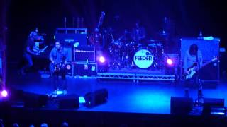 FEEDER .This Town ,live @ Warrington Parr Hall 24 4 12 HD