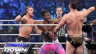 The Usos, Dolph Ziggler & Titus O'Neil vs. The New Day & The Miz: SmackDown, Jan. 28, 2016