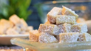 EASY DESSERT RECIPES - Soft Ginger Candy Chews (Chinese) [ 姜汁软糖]