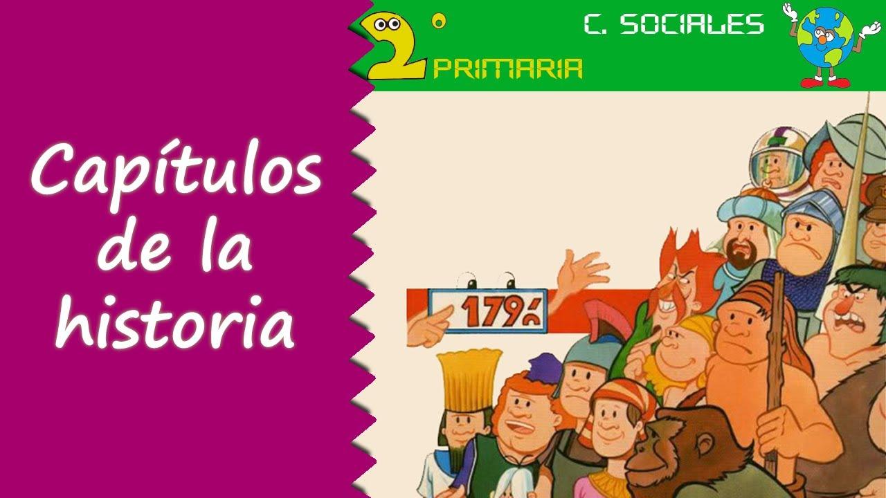 Ciencias Sociales. 2º Primaria. Tema 7. Capítulos de la historia