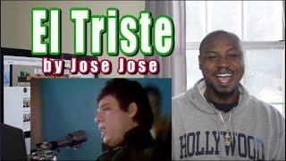 El Triste REACTION | Jose Jose LIVE (1970) | Listening Party