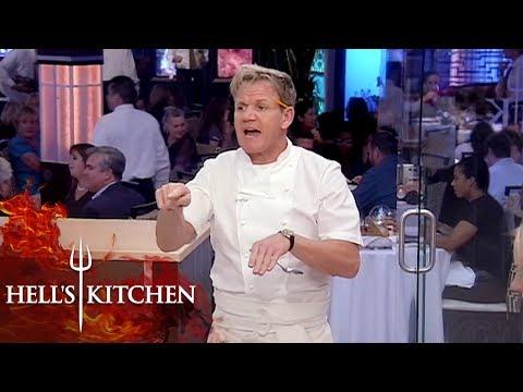 Chefs Get Annoyed With Michelle's Voice | Hell's Kitchen