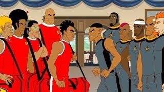Supa Strikas   S5E53   No Man's Island   Soccer Adventure Series | Kids Cartoon