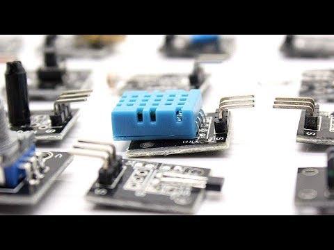 Geekcreit® 37 In 1 Sensor Module Board Set Kit For Arduino Plastic Bag Package
