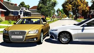 Crossroad Car Crashes Compilation #11 - BeamNG.Drive •ShowMik