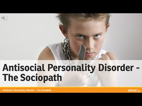 Video Antisocial Personality Disorder - The Sociopath