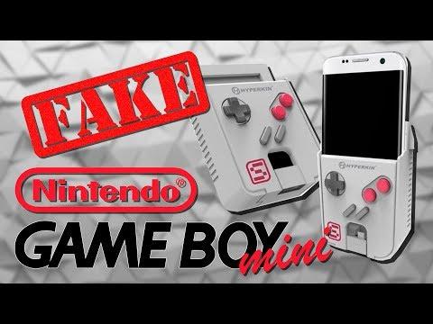 Пиратский Game Boy mini не от Nintendo