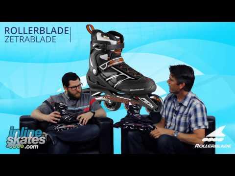 2016 Rollerblade Zetrablade Mens and Womens Inline Skate Overview by InlineSkatesDOTcom