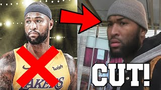 DeMarcus Cousins RELEASED BY THE LOS ANGELES LAKERS Despite Injury Rehab For The NBA Playoffs!
