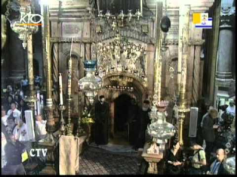 Visite au Saint Sépulcre de Jérusalem