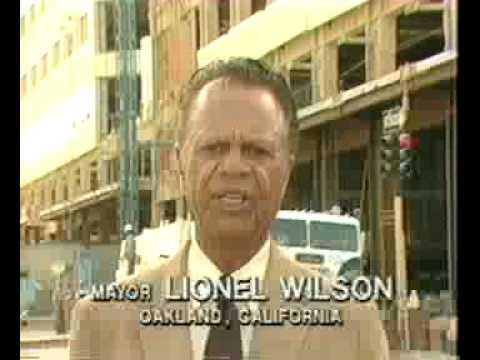 Oakland Mayor Leads: Lionel Wilson Promotes Oakland