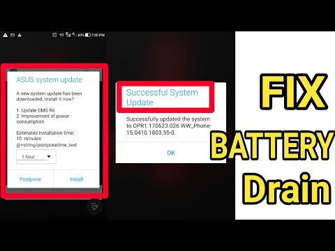 Update Asus ZenFone 3 Ze552kl To FIX BATTERY DRAIN !!! Mp3