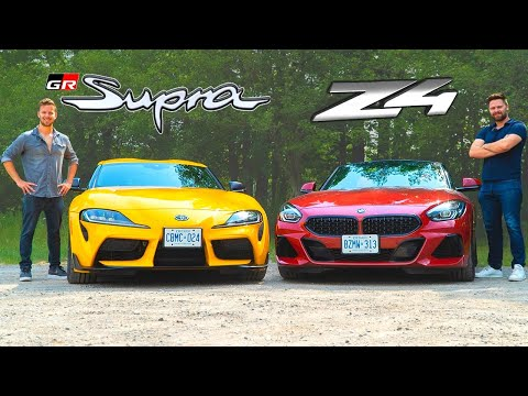 External Review Video wvE1GCXcOTs for Toyota GR Supra Sports Car (5th gen J29/DB)