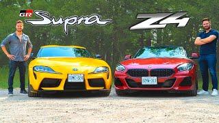 2020 Toyota Supra vs BMW Z4 M40i // Attack Of The Clones