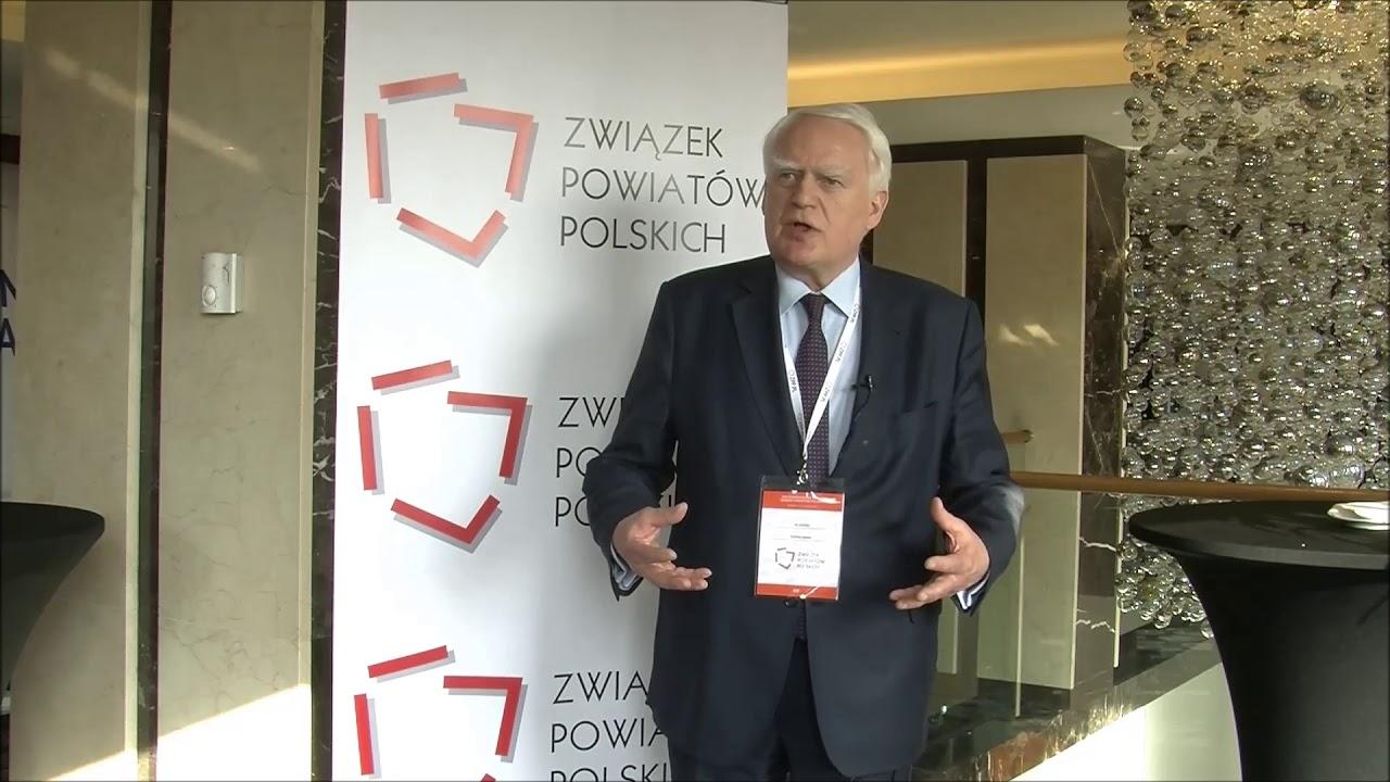 Olgierd Dziekoński podczas XXIII Zgromadzenia Ogólnego Związku Powiatów Polskich