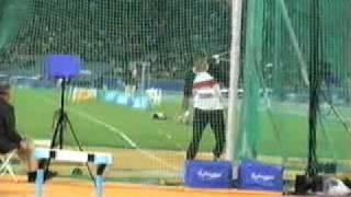 Jurgen Schult at the Olympics Sydney 2000
