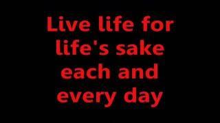 Youth Brigade - Live Life (Lyrics)