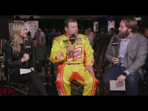 Ryan Newman: 'I got a text from Chase after he crashed me'