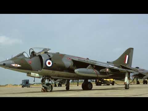 Runaway Harrier Jump Jet 1971