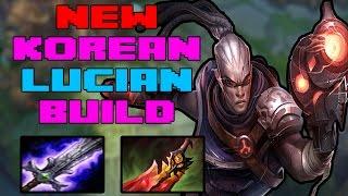 New Lucian OP Korean Pro Build LCS | League of Legends 7.9 | Patch 7.9