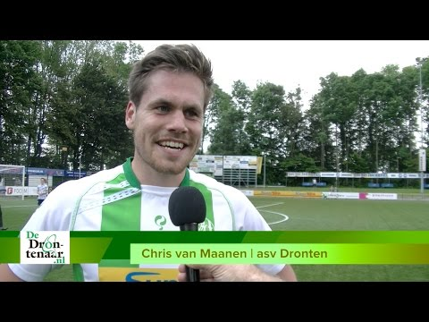 VIDEO | Asv Dronten blijft door sensationele tweede helft in de race